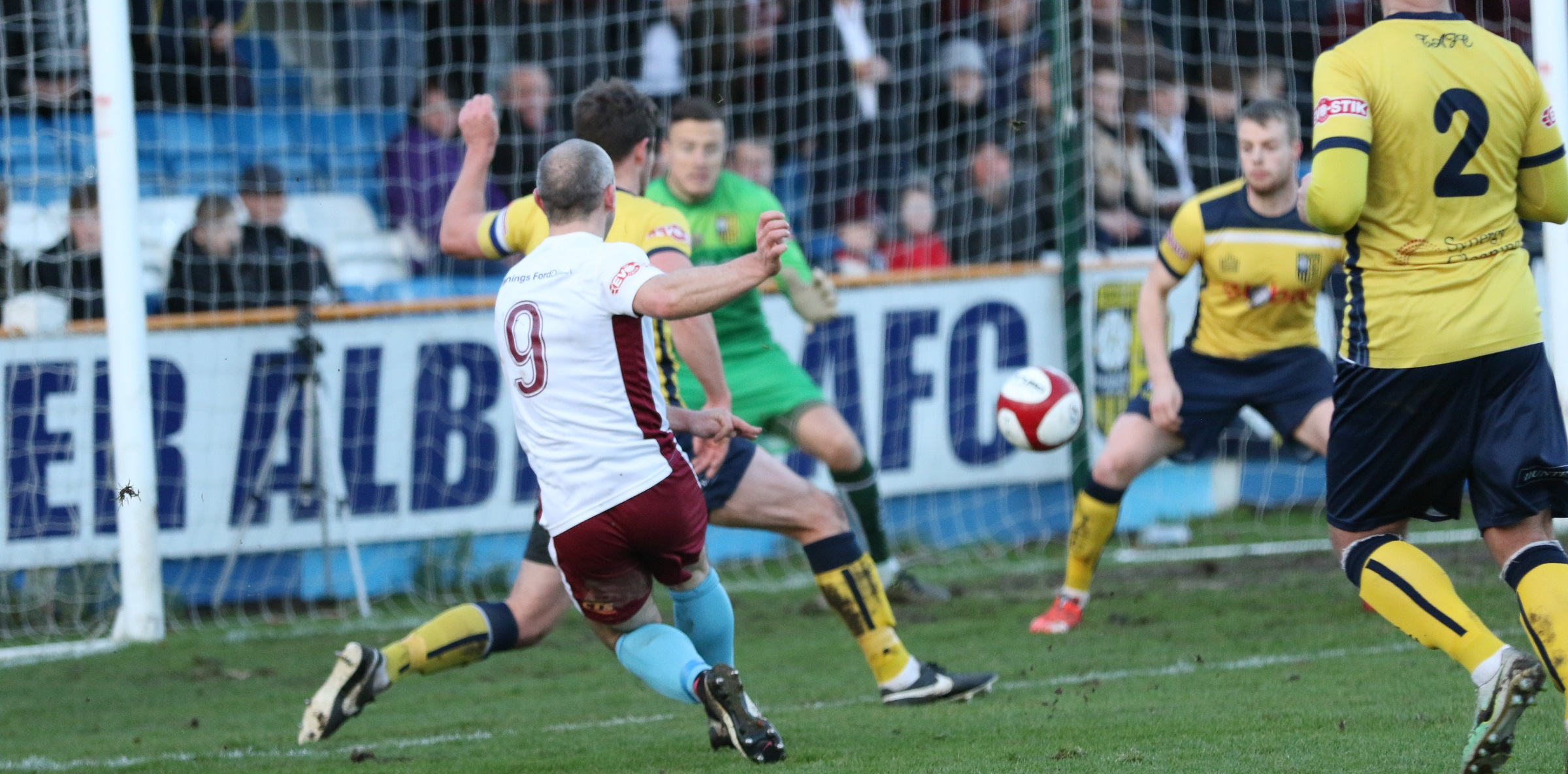 Tadcaster Albion 0-2 South Shields: Mariners back to winning ways
