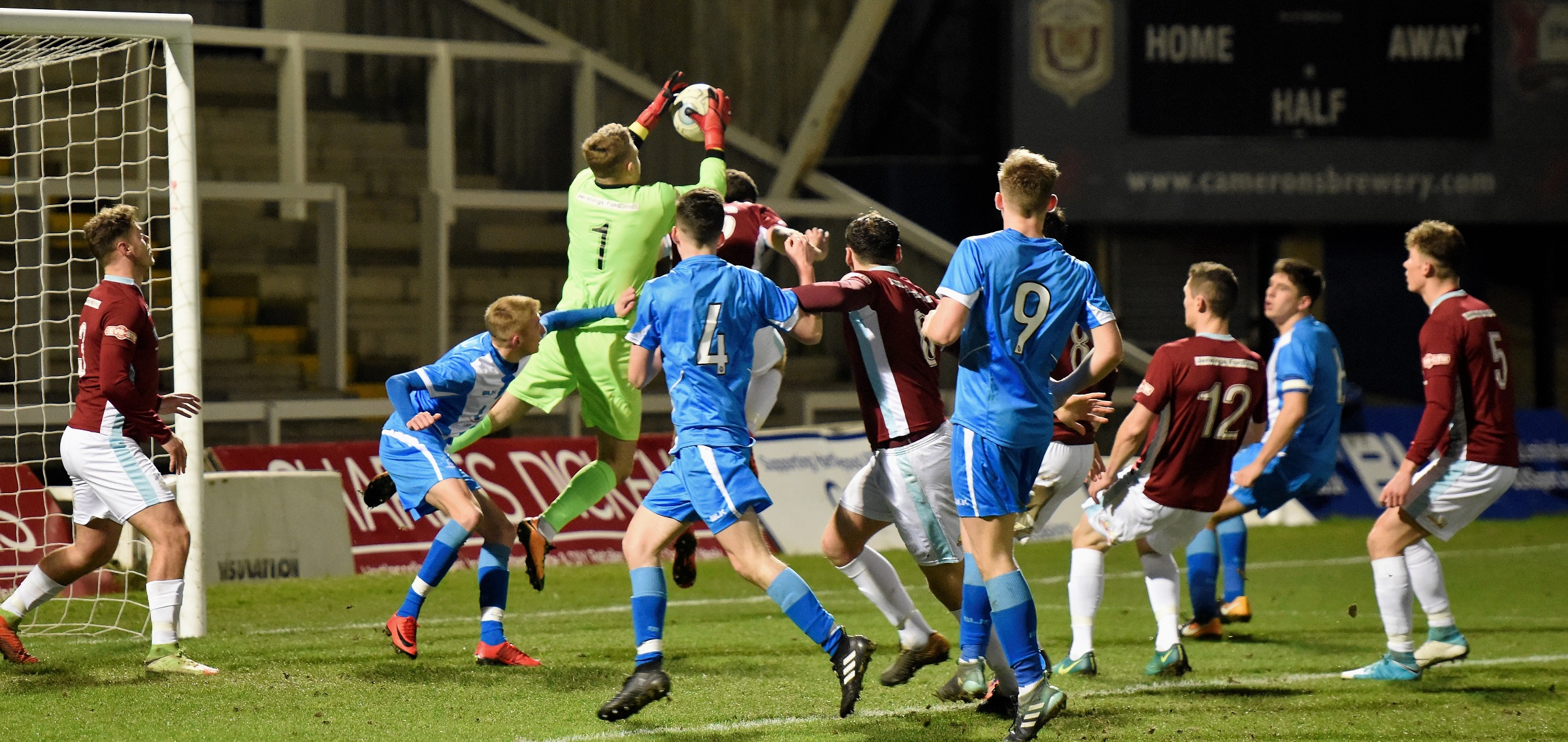 Hartlepool United vs South Shields