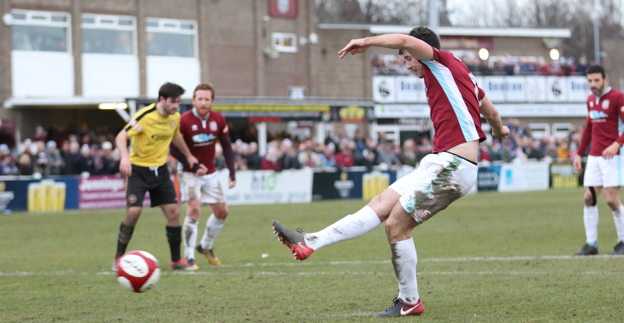 South Shields 3-1 Skelmersdale United: Briggs hat-trick seals win