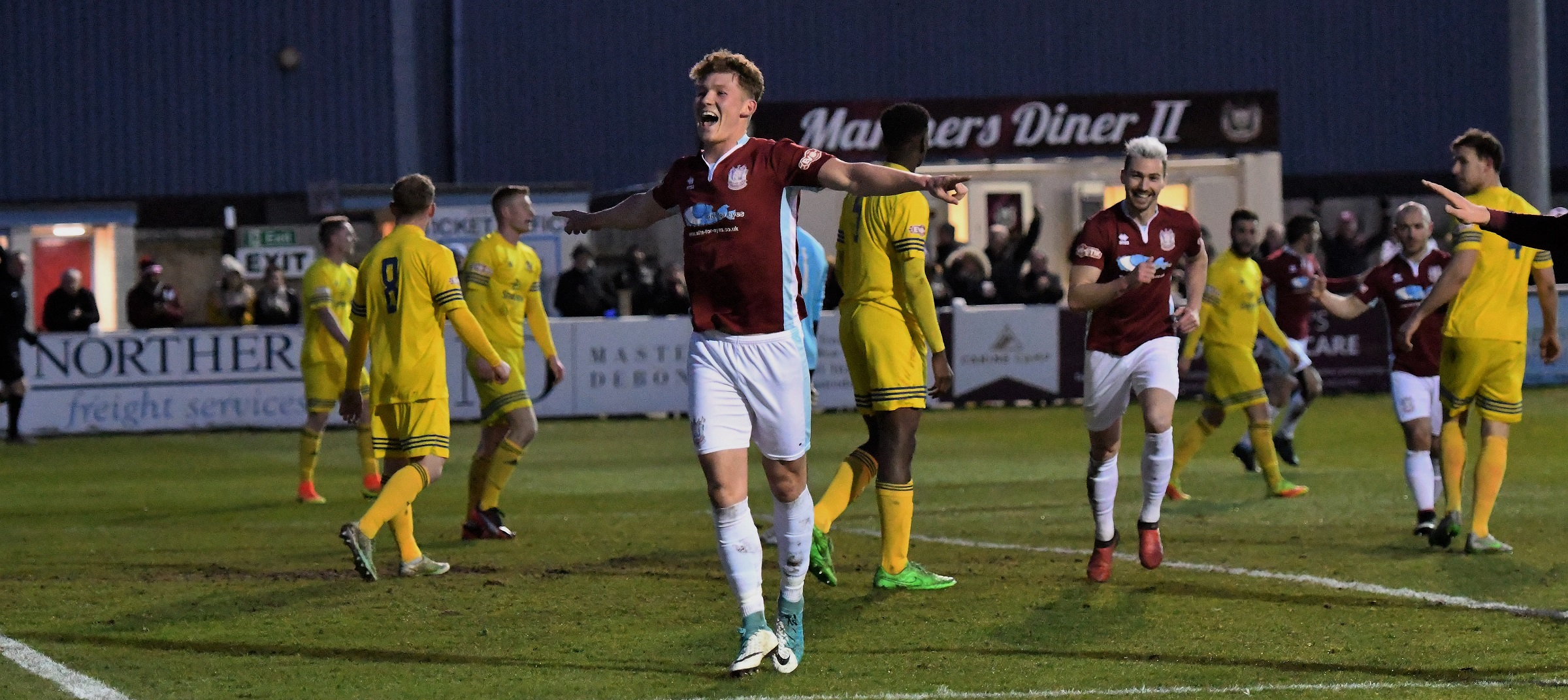 South Shields 5-0 Ossett Town: Impressive Mariners back on top