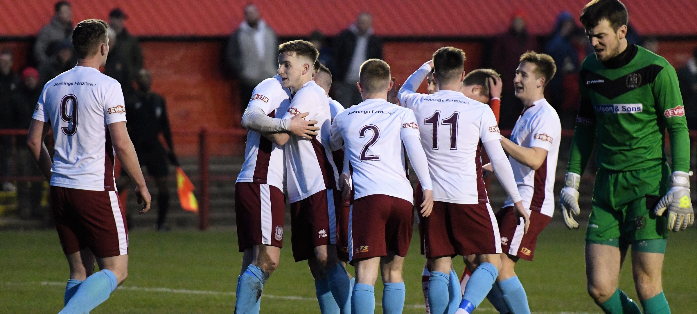 Workington 1-5 South Shields: Brilliant Mariners into semi-finals
