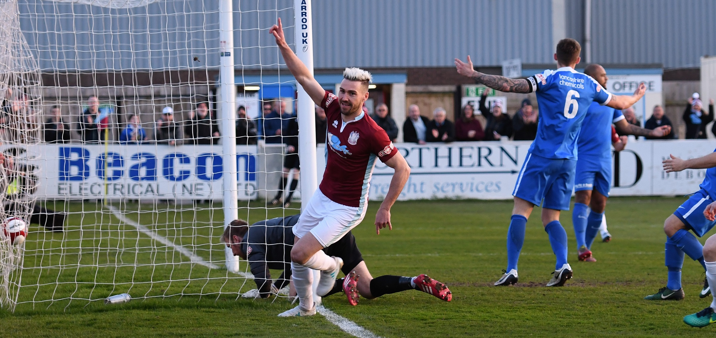 South Shields 3-0 Glossop North End: Promotion secured for Mariners