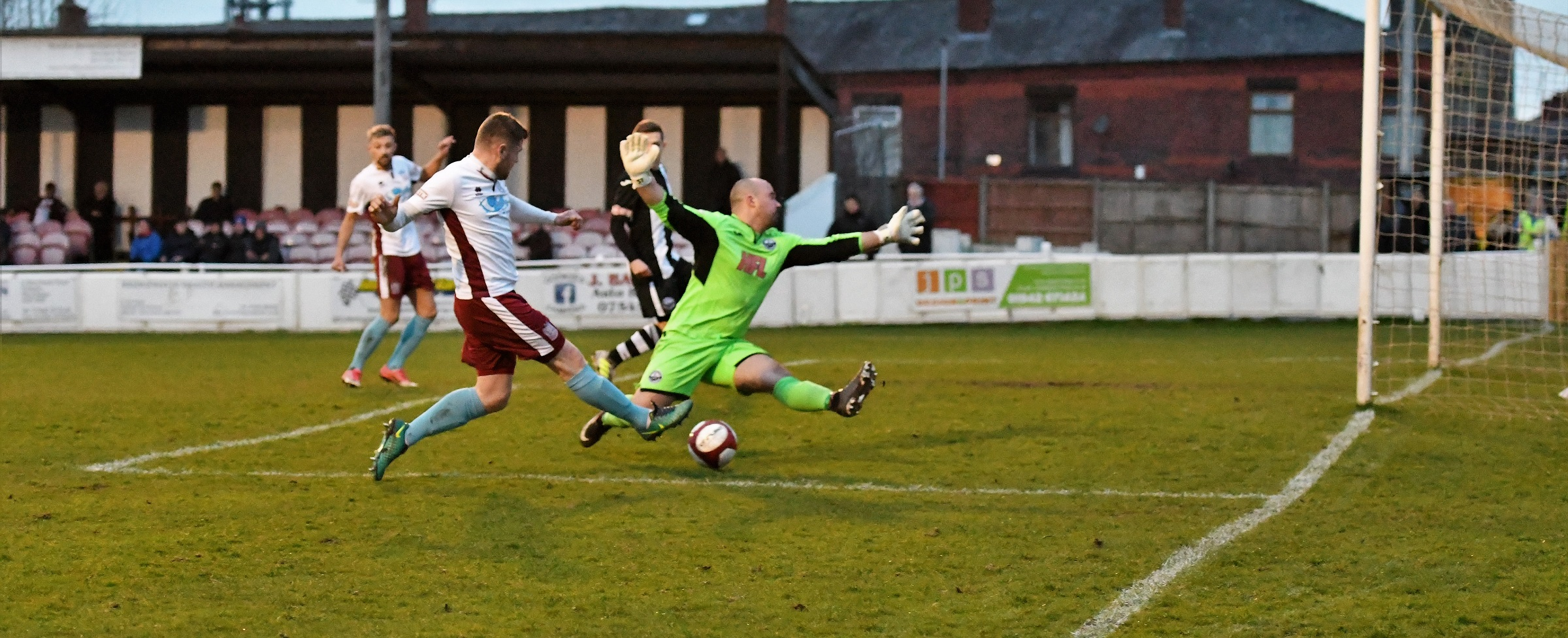Atherton Collieries 0-2 South Shields: Another important win secured
