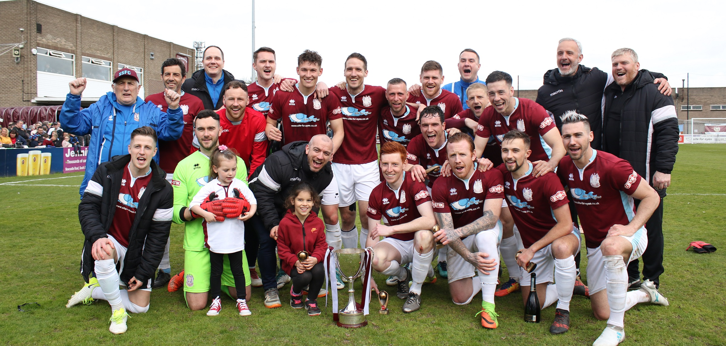 South Shields 2-1 Colne: Champions sign off with win