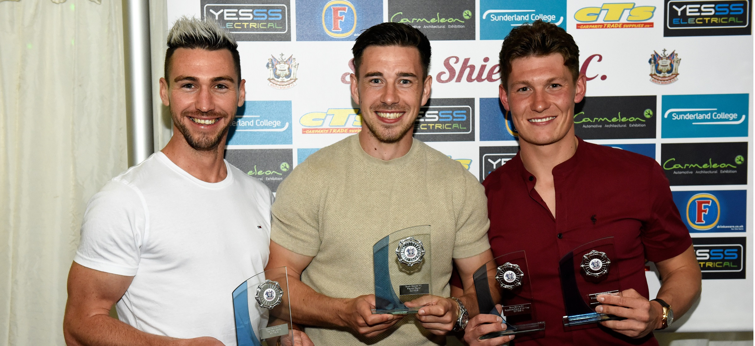 Prizes handed out at end-of-season presentation night