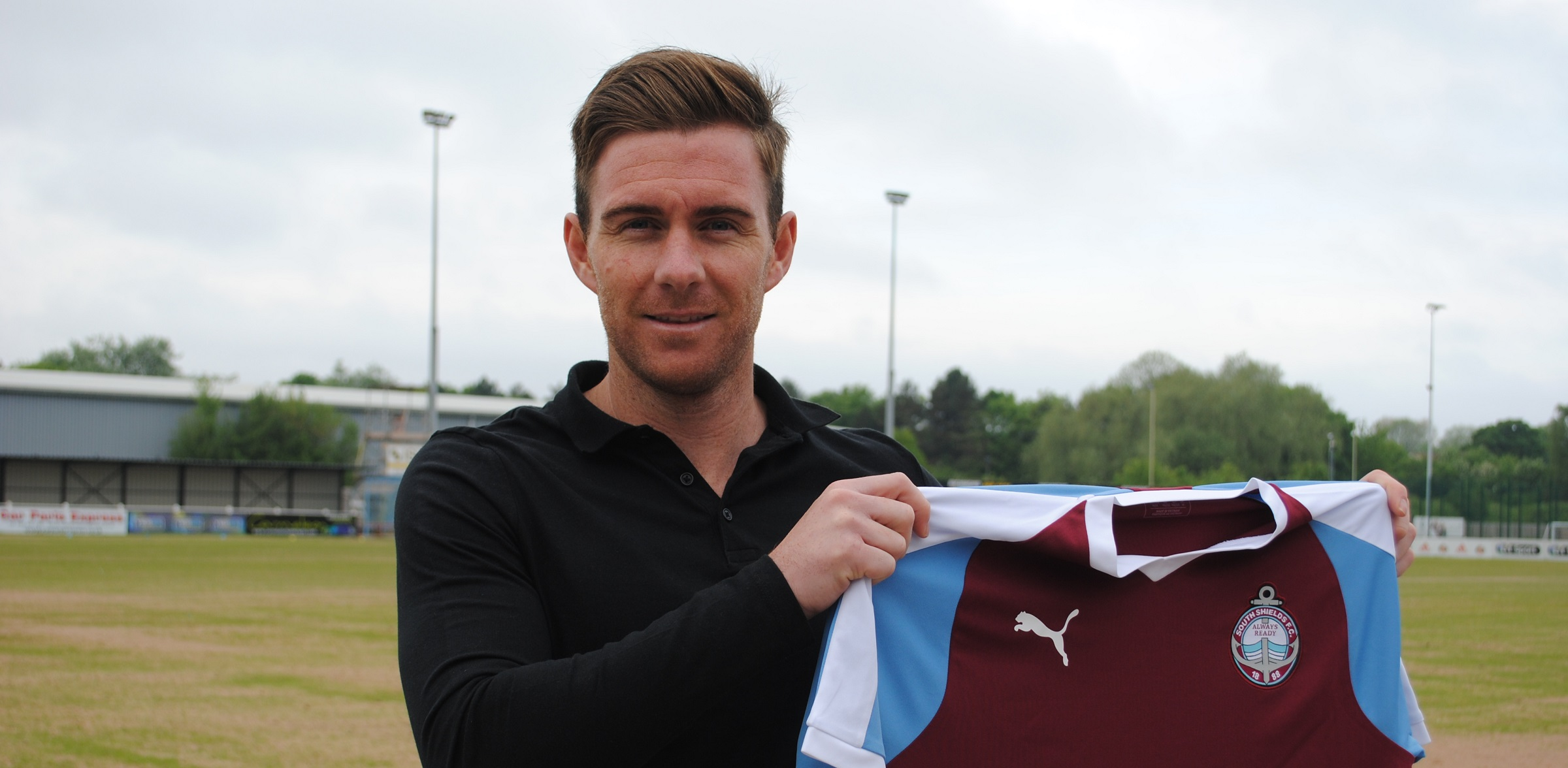 Phil Turnbull joins South Shields from Darlington