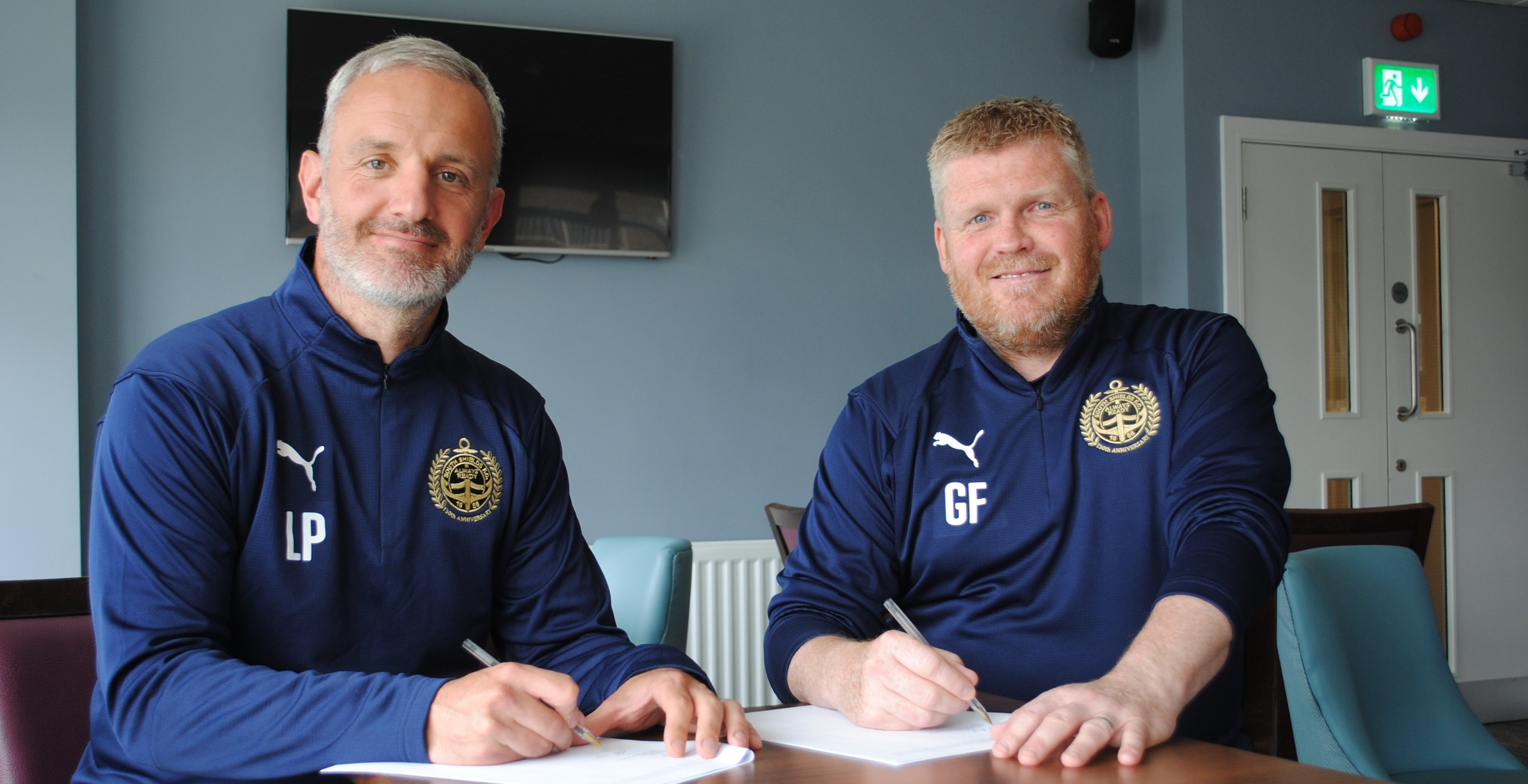 Management duo sign new five-year deals with South Shields