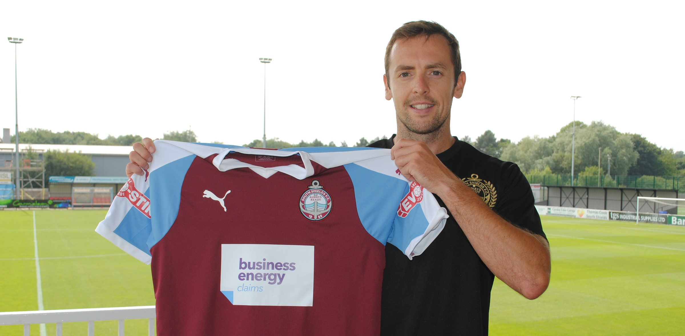 South Shields complete signing of Blair Adams