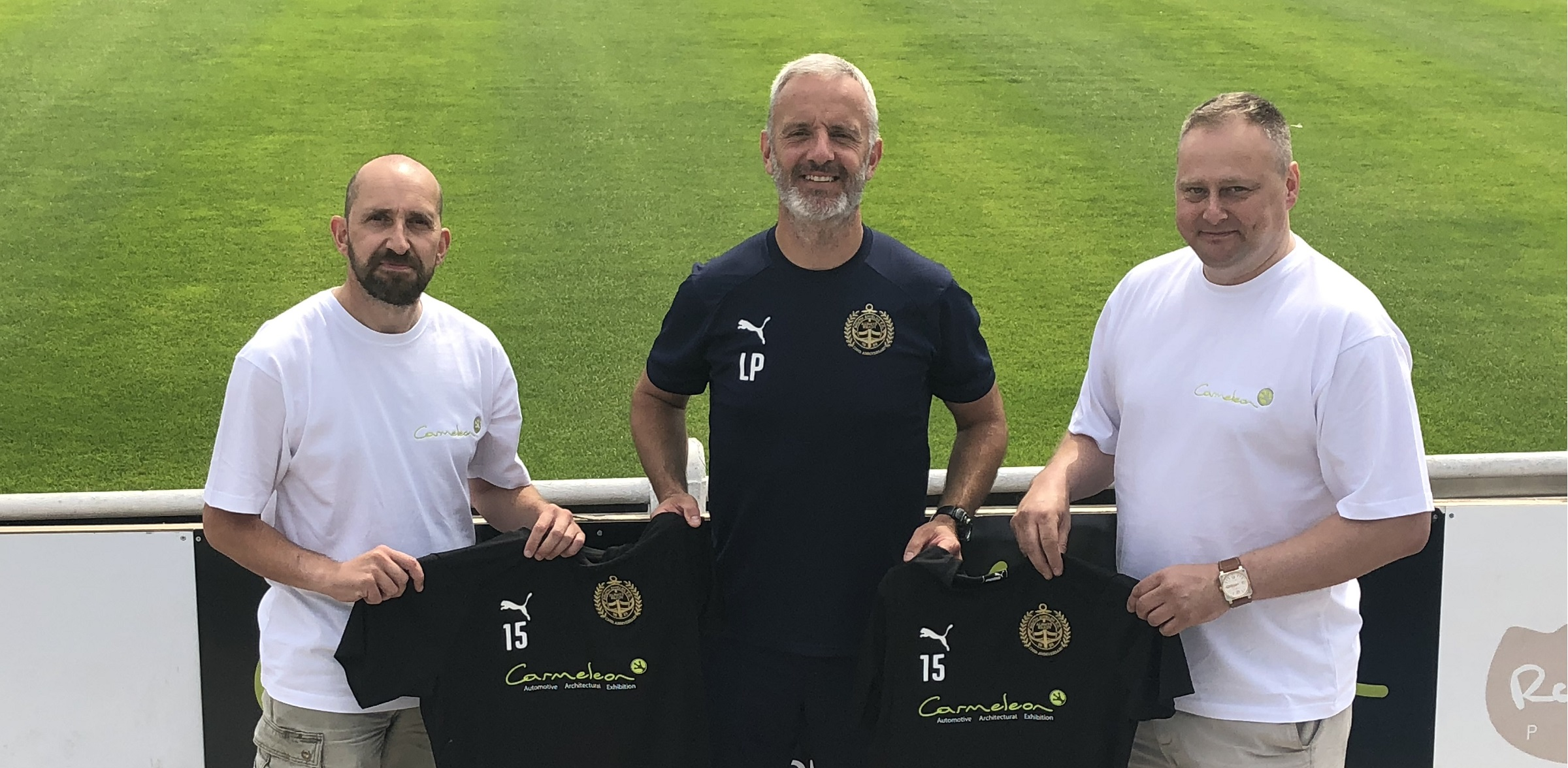Carmeleon Concepts becomes club's first-team training kit sponsor