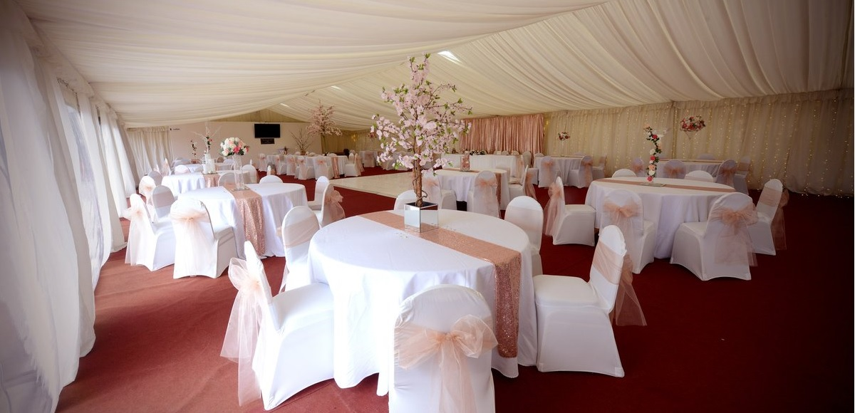 FREE function room and marquee hire for bookings made in August