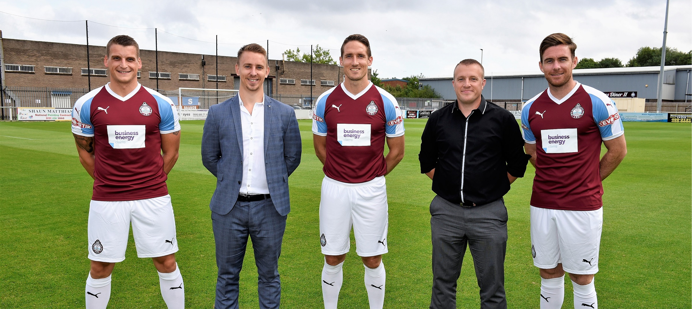 Business Energy Claims becomes South Shields main shirt sponsor