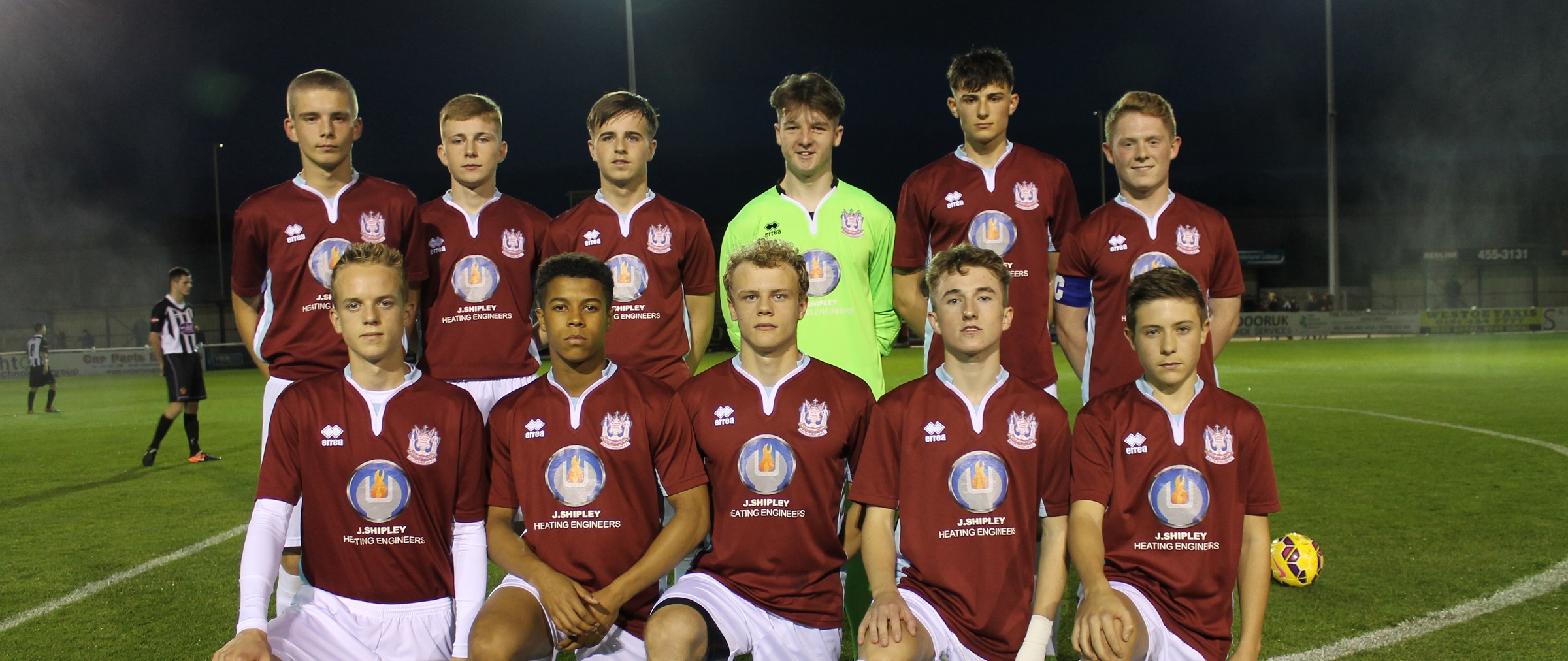 Academy set to visit Stockton Town in FA Youth Cup