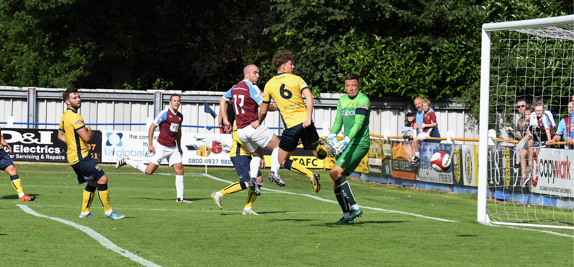 Tadcaster Albion 0-0 South Shields: Mariners draw penultimate friendly