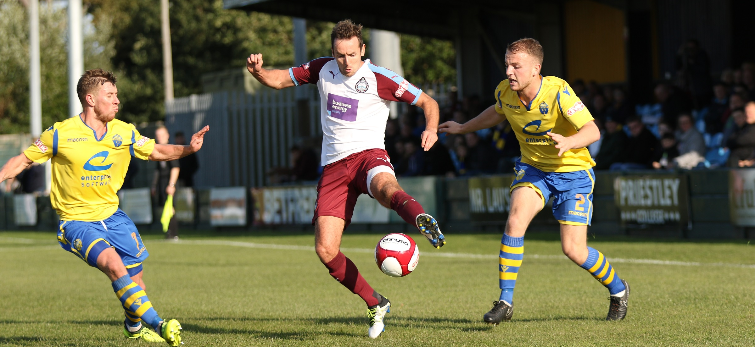 Warrington Town vs South Shields