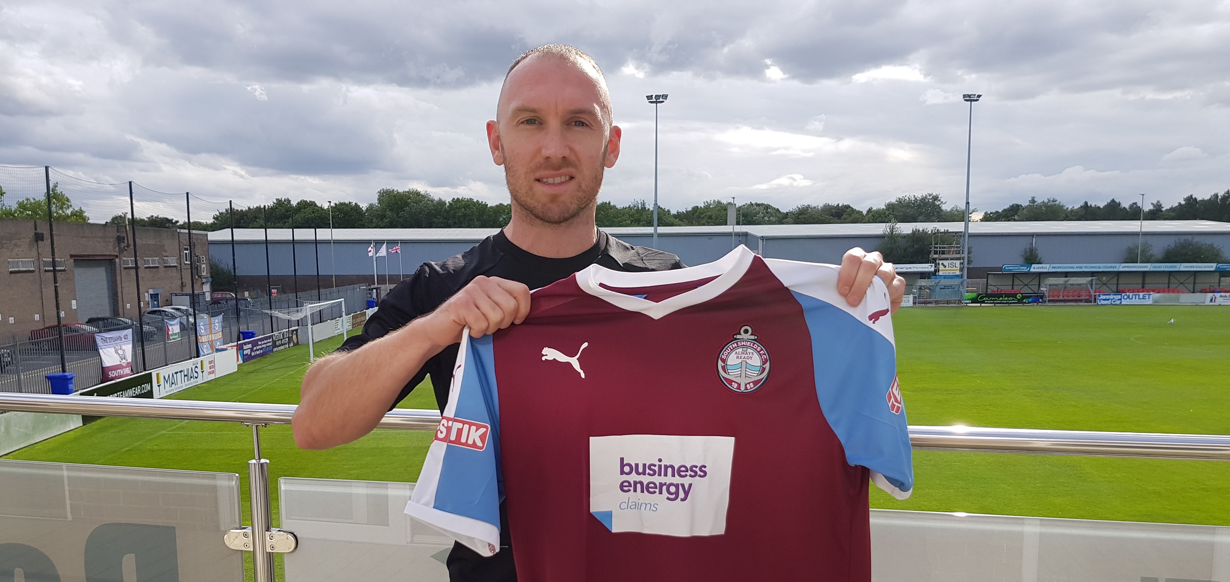 David Foley rejoins South Shields from Spennymoor Town