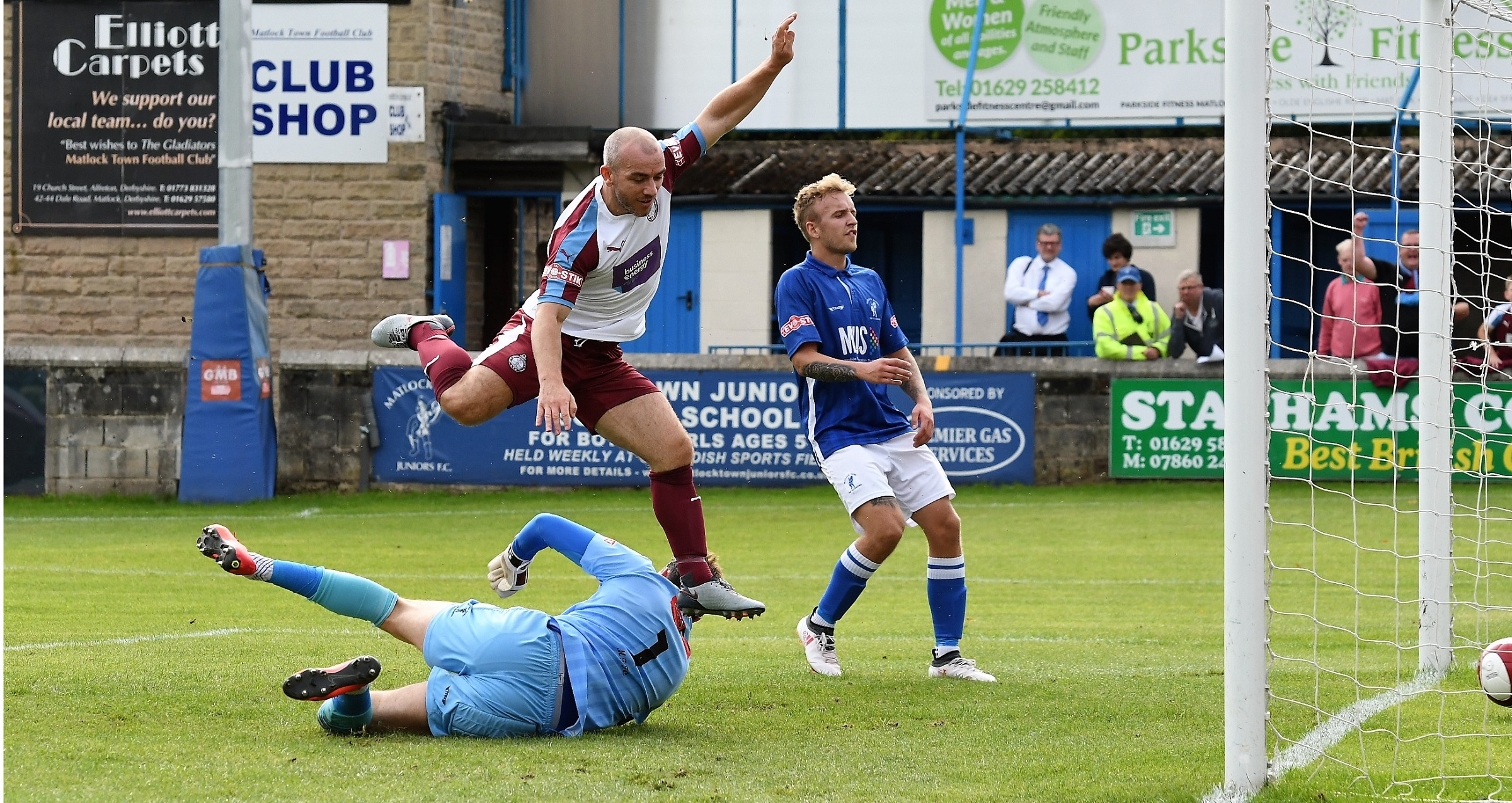 Matlock Town 0-3 South Shields: Mariners claim another win