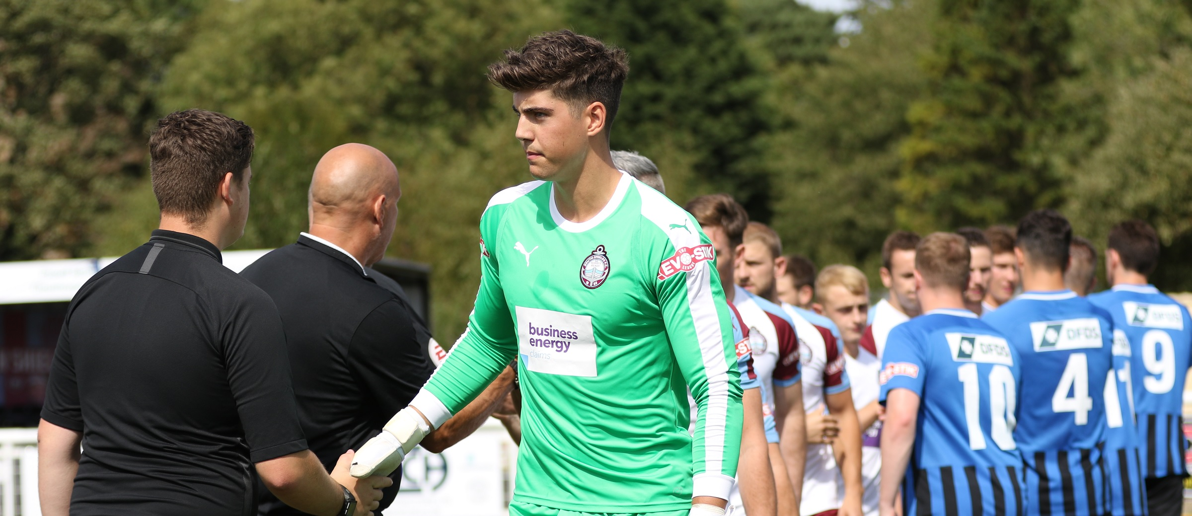 Brendan Pearson leaves SSFC by mutual consent