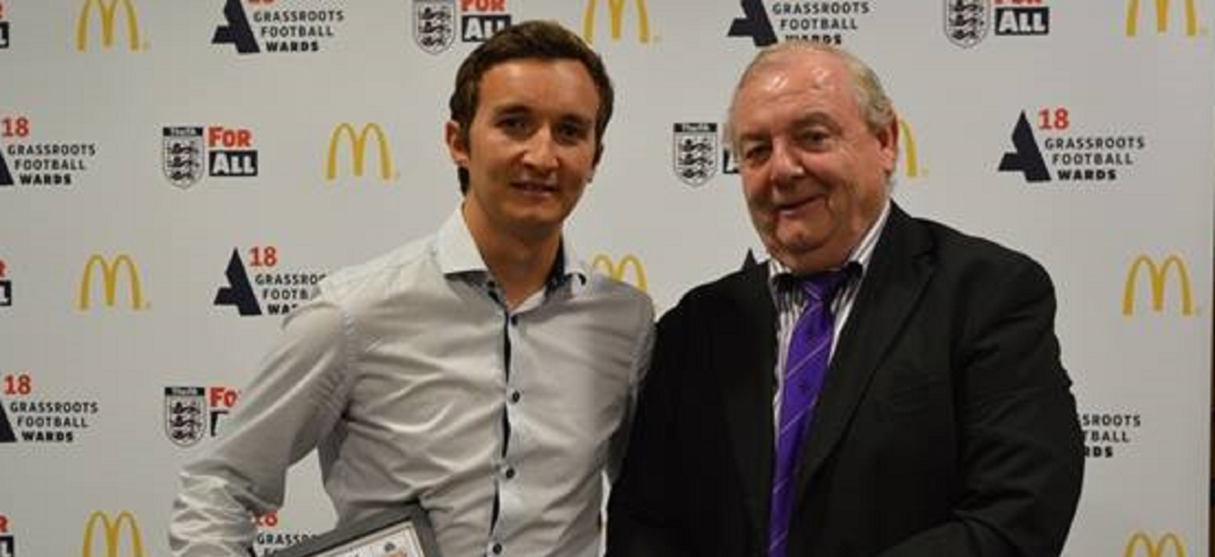 Jamie Williams wins FA Respect Award for outstanding work