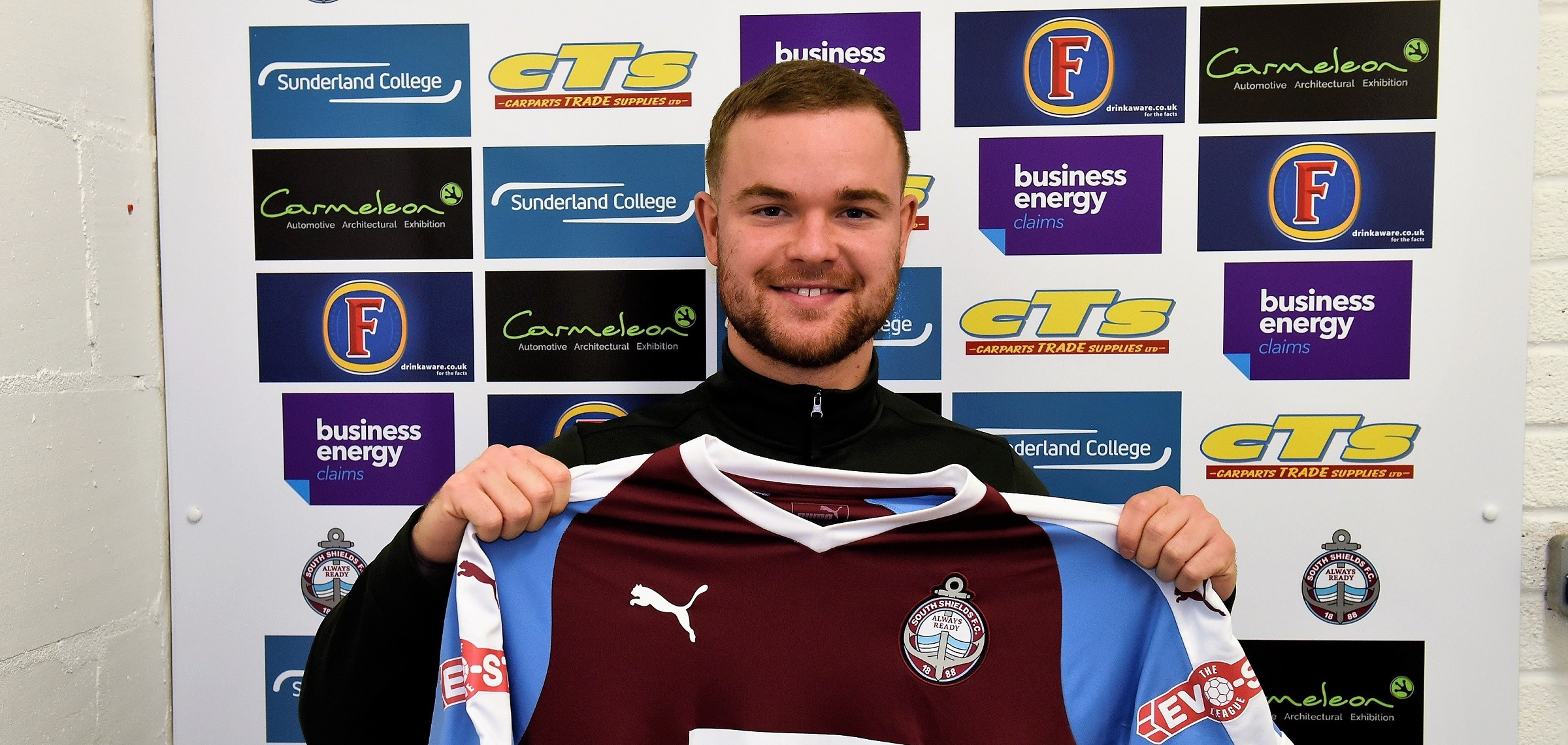 Midfielder Nathan Lowe joins South Shields