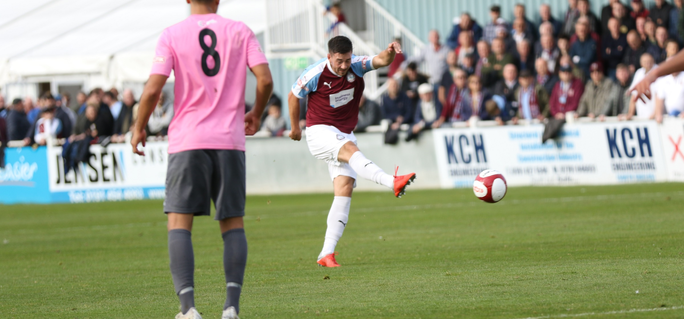 South Shields 5-0 Grantham Town: Mariners back to winning ways
