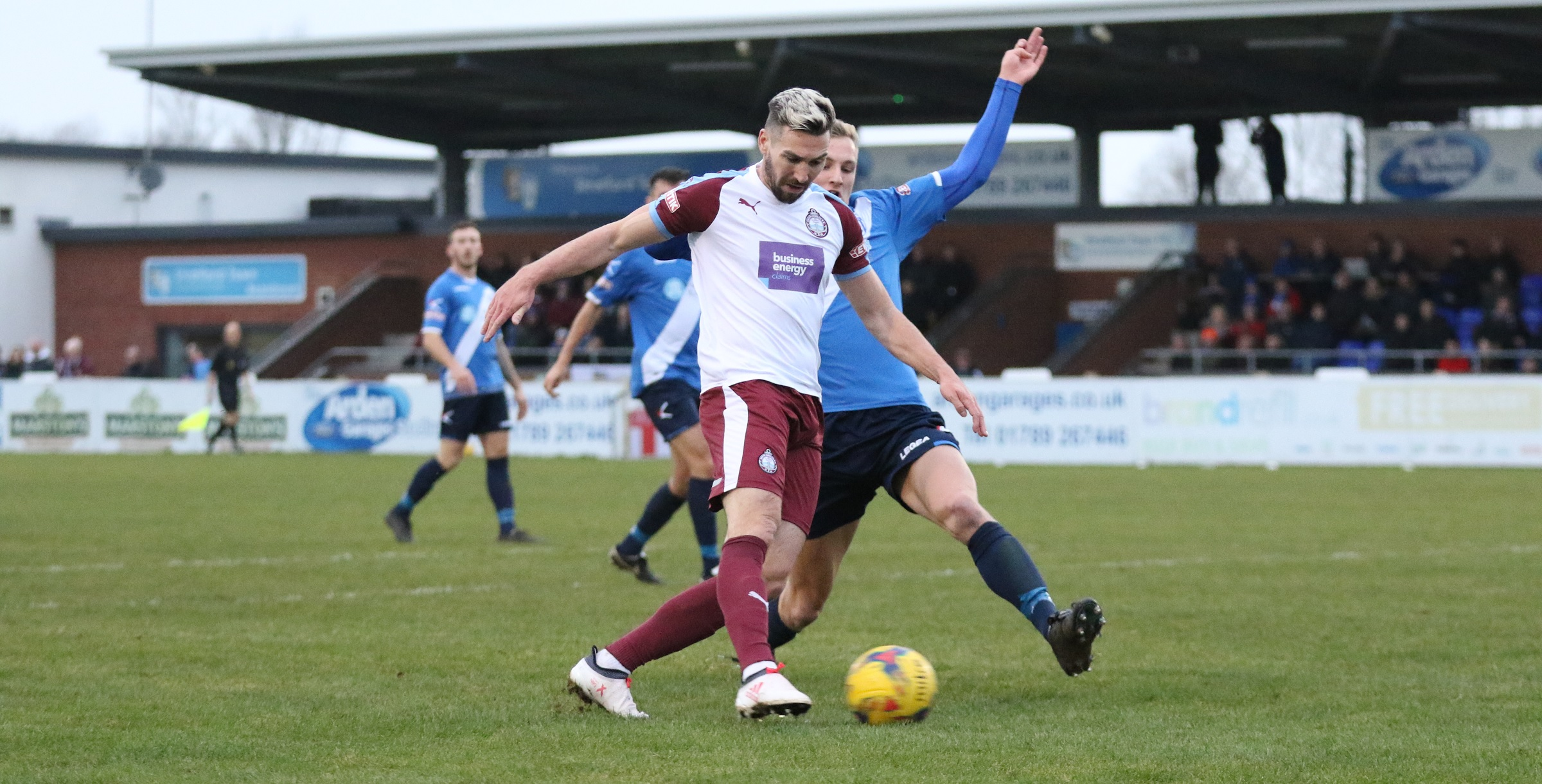Stratford Town 2-1 South Shields: Late heartbreak for 10-man Mariners