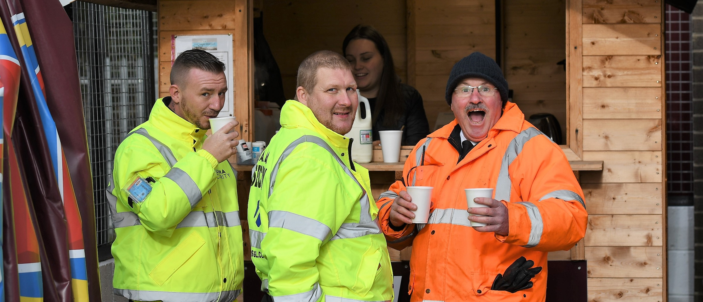 Free hot drink offer for over-65s at Mariners Park