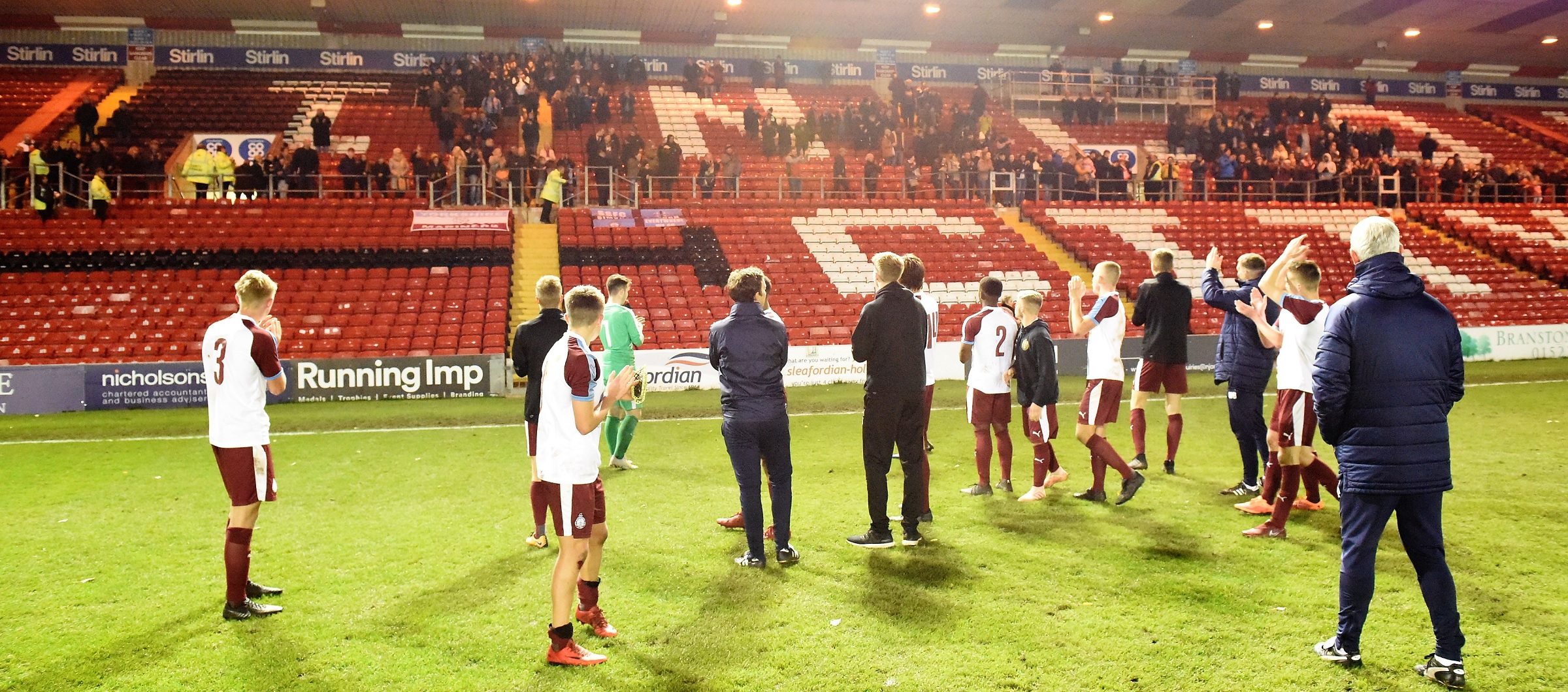 Youngsters hold heads high after valiant FA Youth Cup loss at Lincoln
