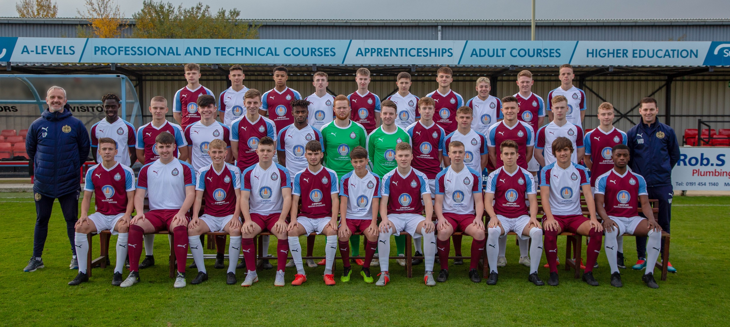 Double win for SSFC Academy as goalkeepers shine
