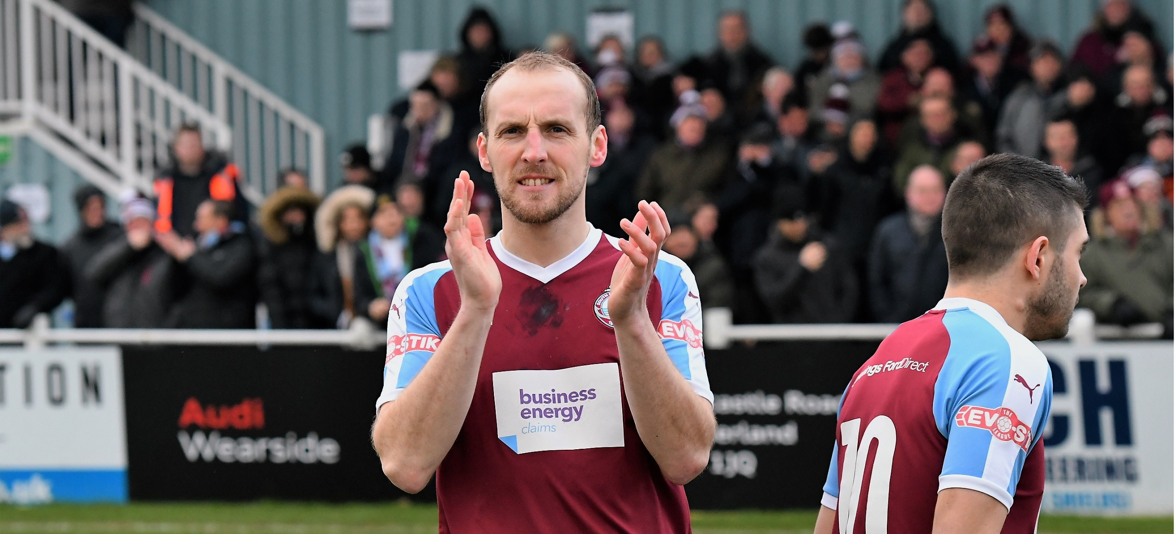 South Shields defender Gary Brown opens up on health scare