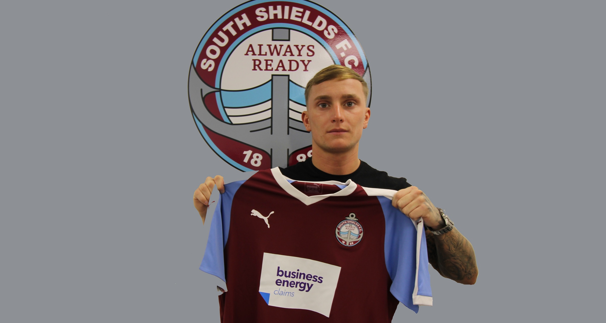 Signing: Luke Daly completes transfer to South Shields