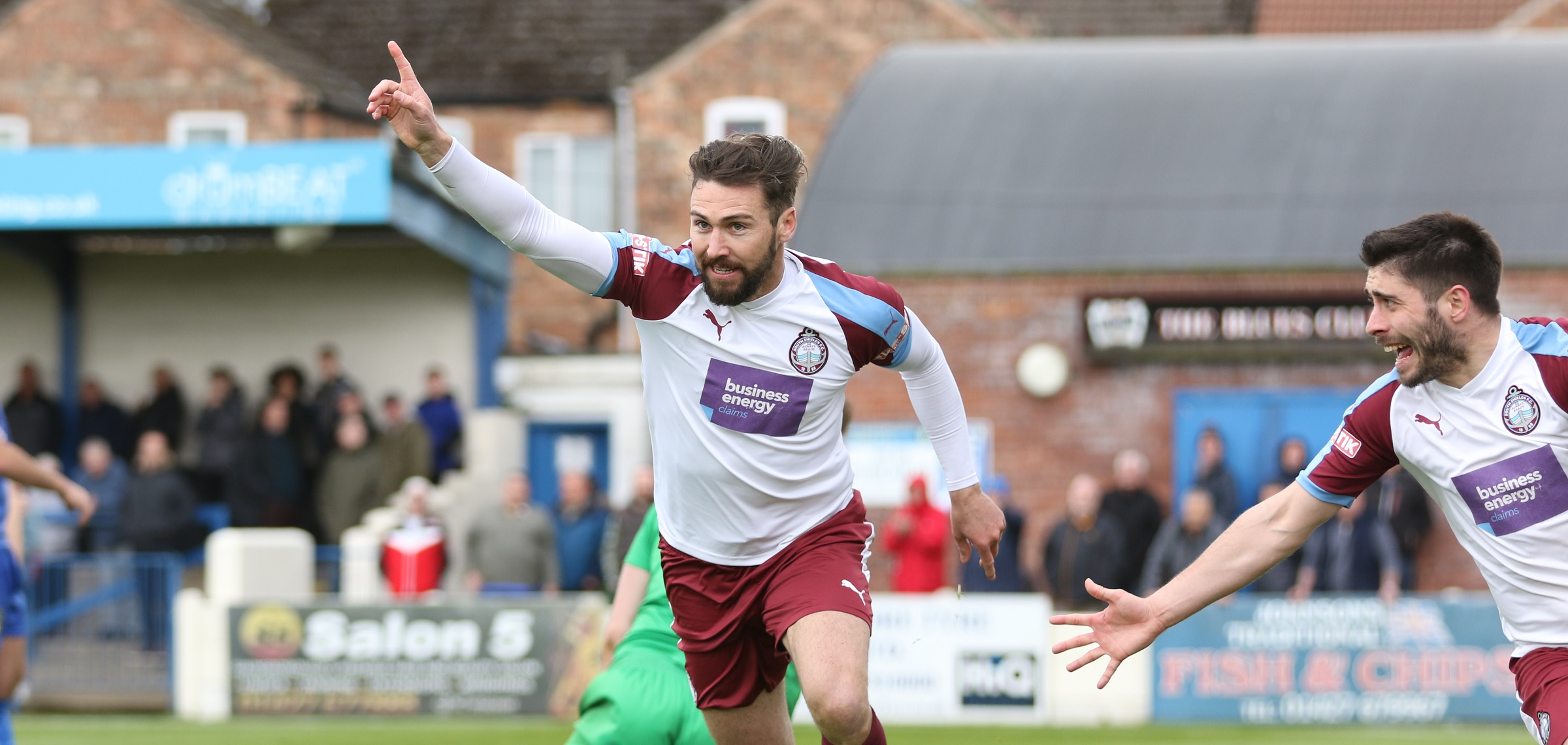 Gainsborough Trinity 0-1 South Shields: Play-off place for Mariners
