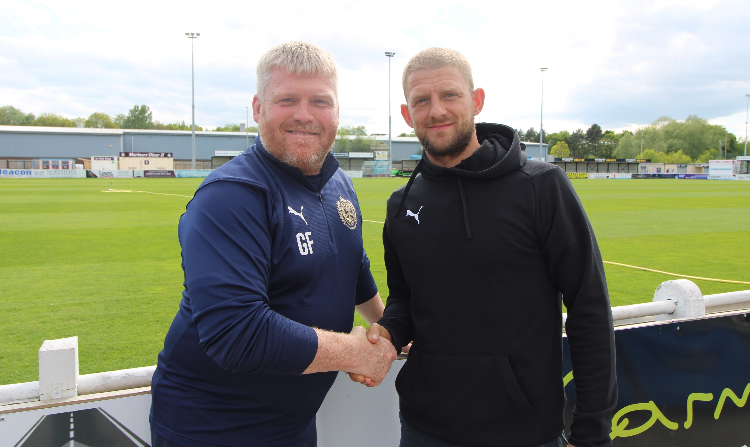 Craig Baxter signs new contract with South Shields