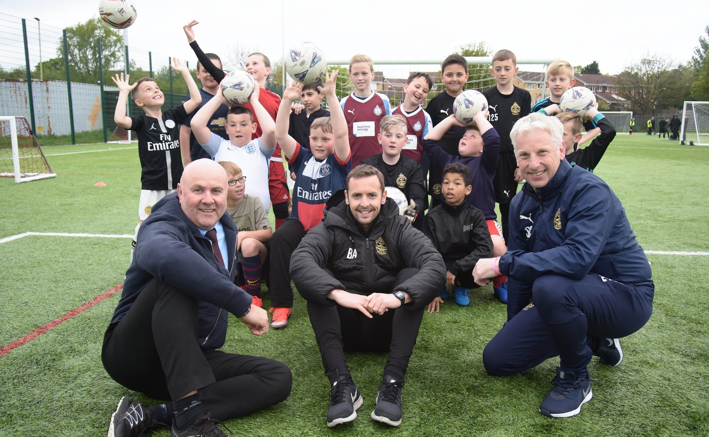 SSFC Foundation health and well-being programme given major boost by Port of Tyne