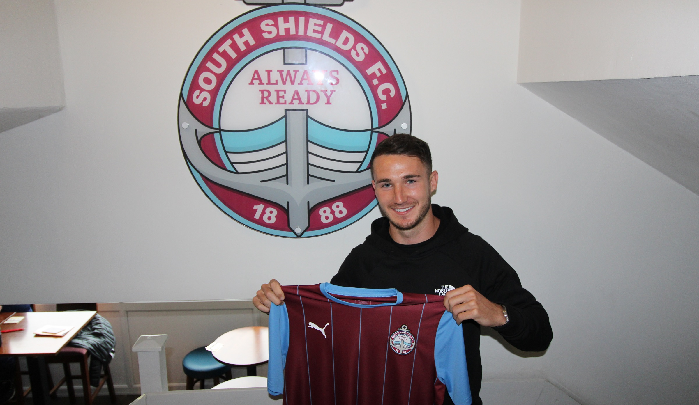 Adam Thurston agrees to join South Shields