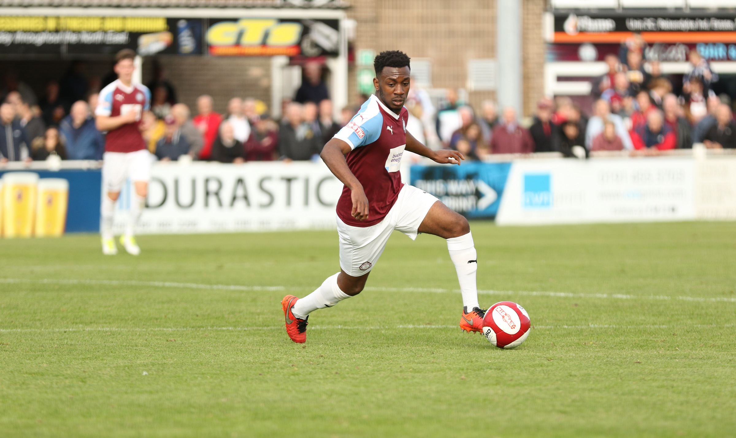 Ursene Mouanda joins Blyth Spartans on season-long loan