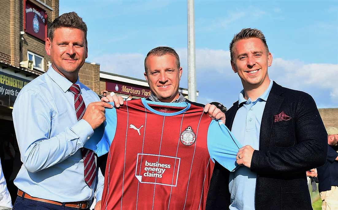 Business Energy Claims continues as first-team main shirt sponsor