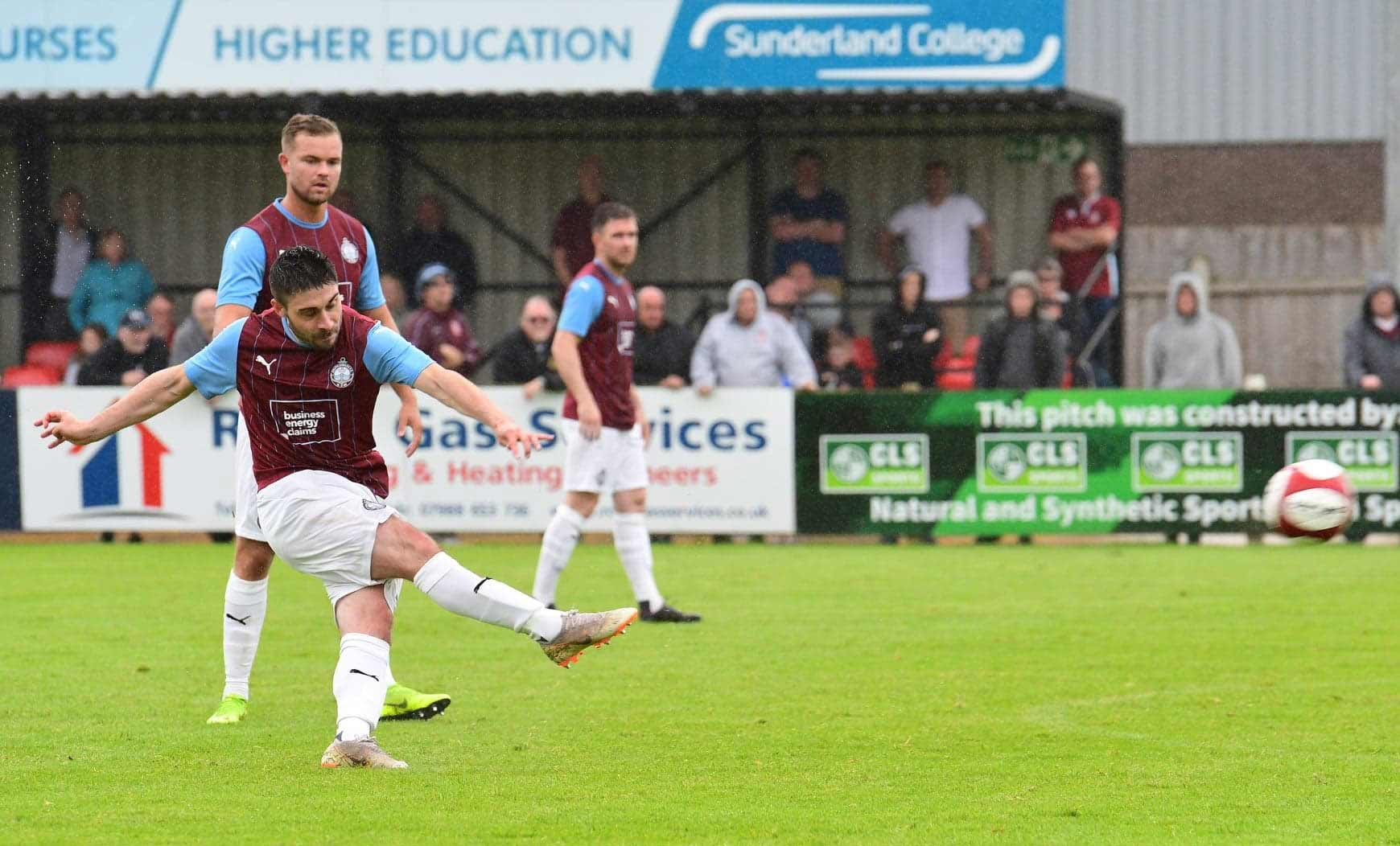 South Shields 2-1 Cleethorpes: Gillies strikes winner in Jak Fada Memorial Trophy match