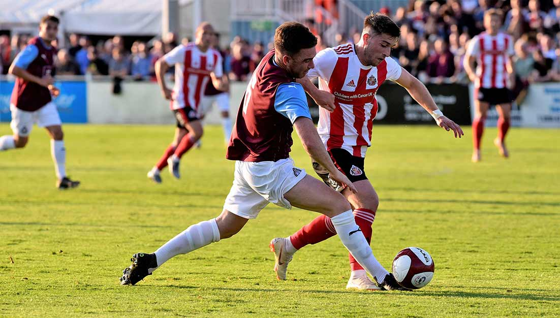 South Shields 0-2 Sunderland: Mariners get pre-season underway in front of big crowd