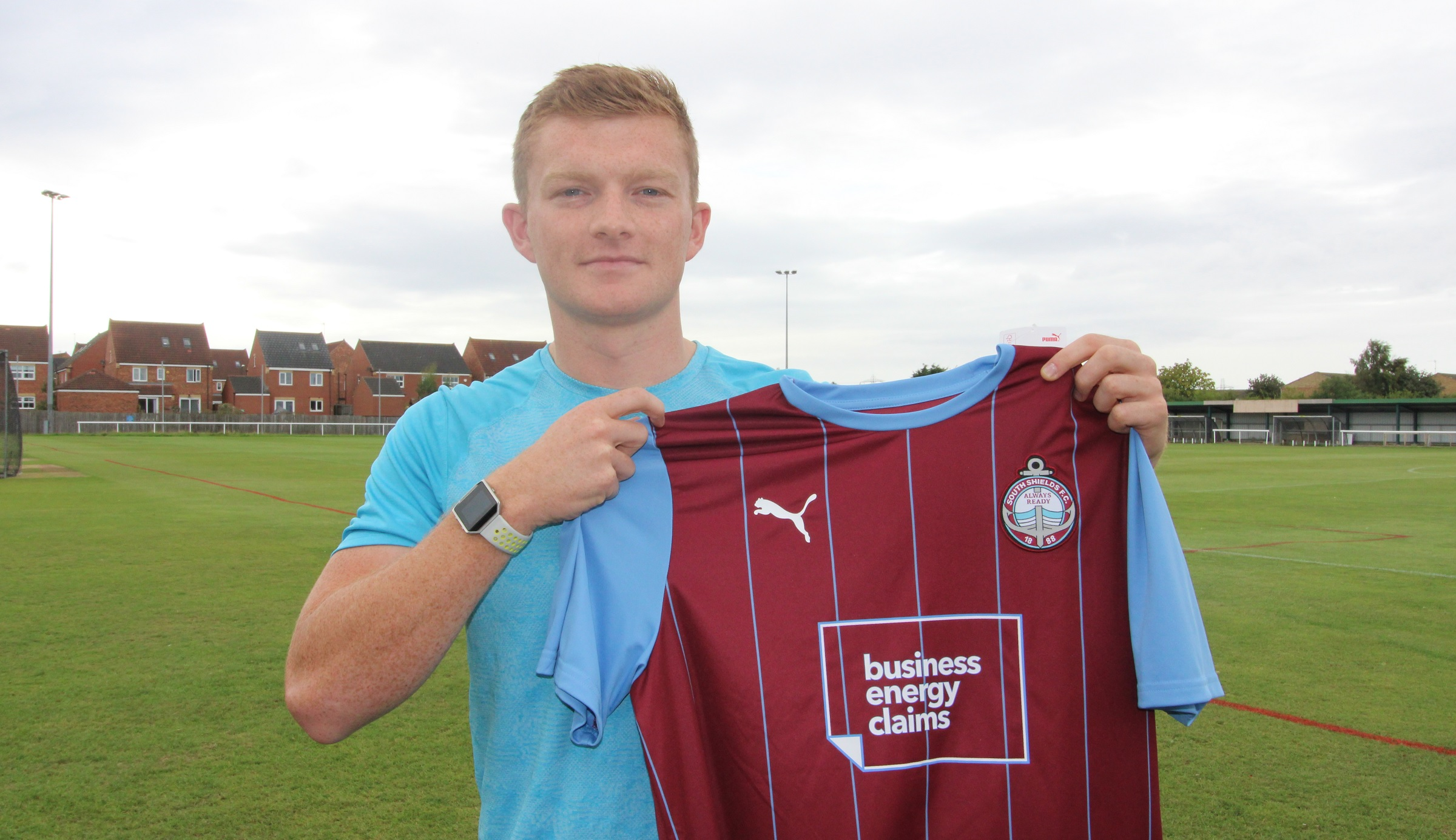 Striker Jordan Annear joins the Mariners