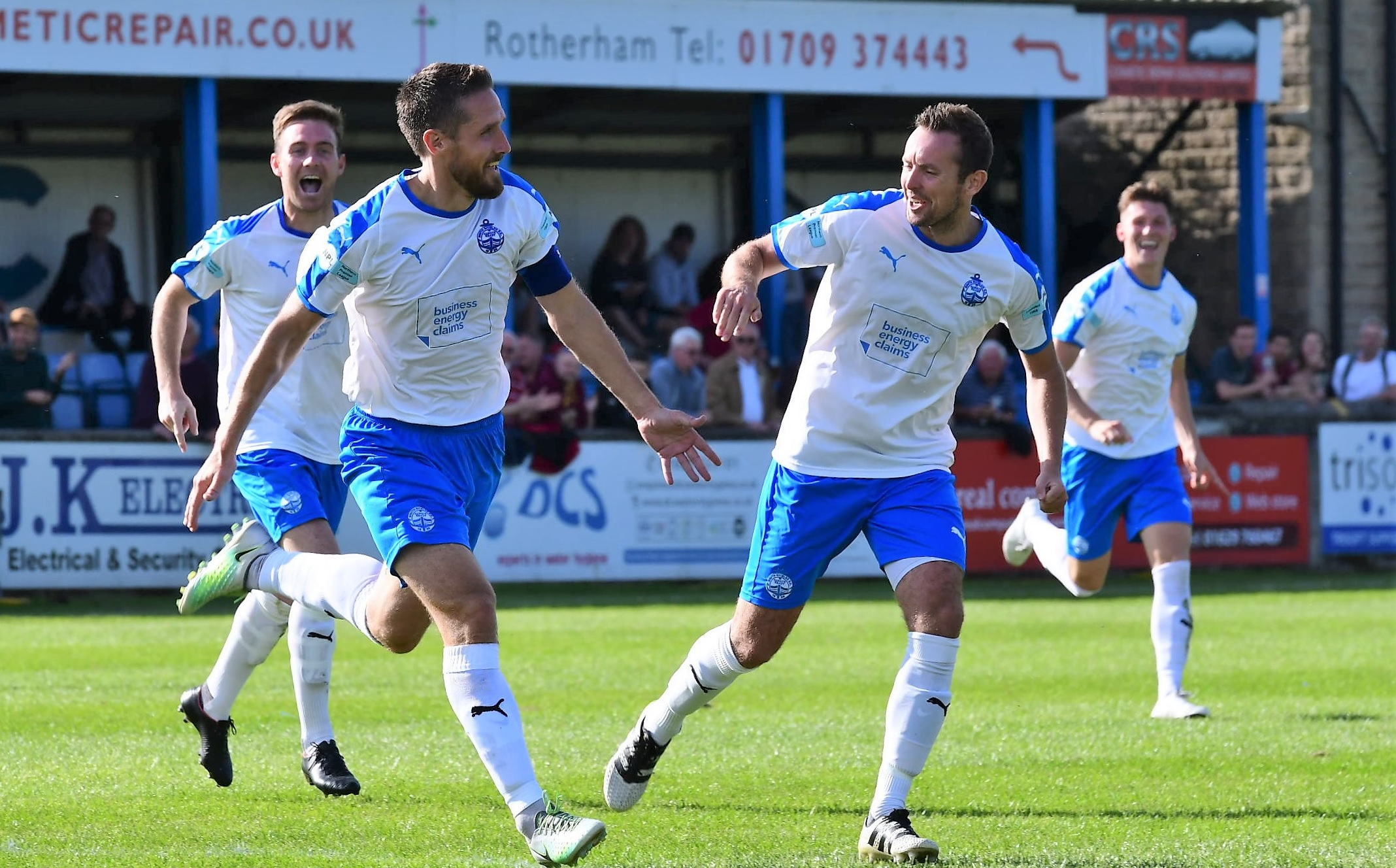 Matlock Town 1-2 South Shields: Superb Mariners end hosts' unbeaten record