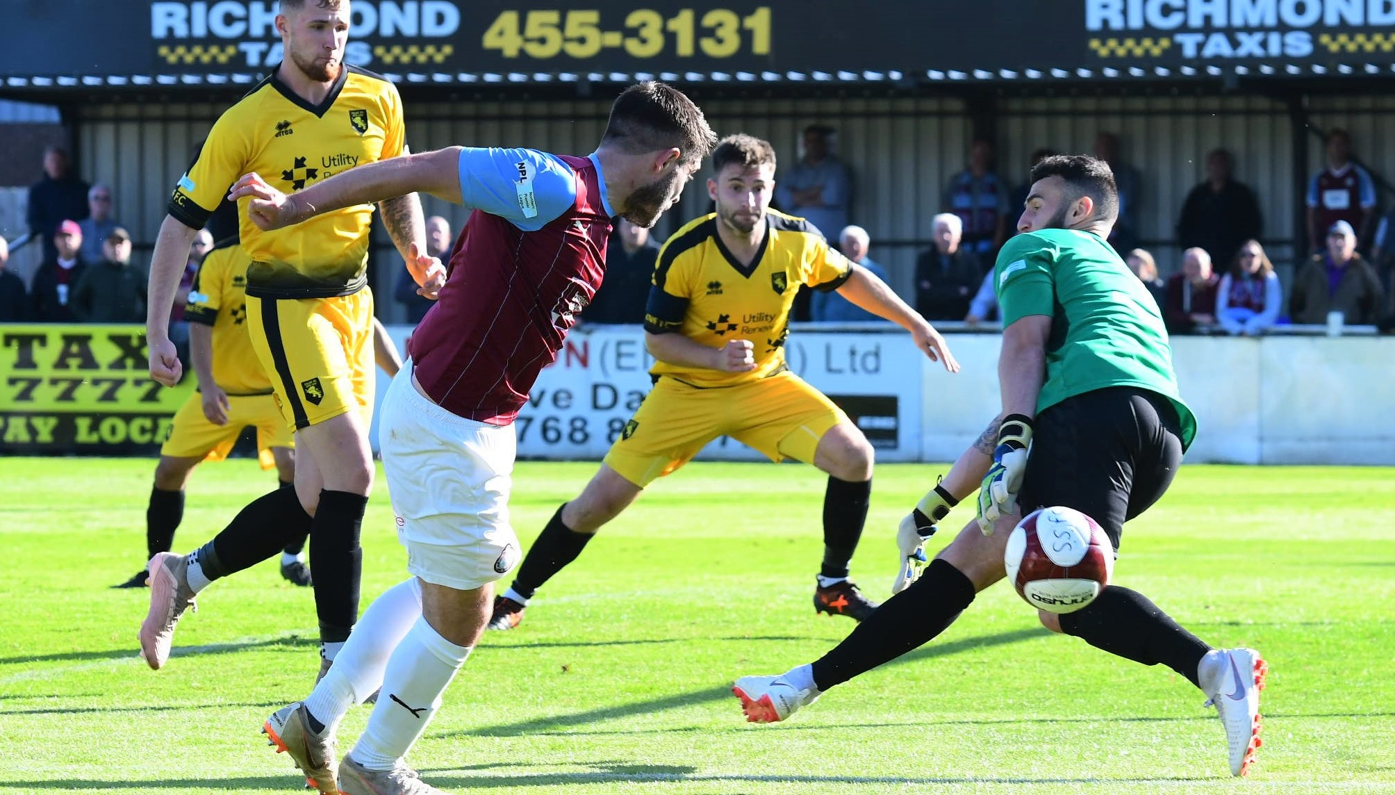 South Shields 0-0 Colne: Resolute visitors earn FA Cup replay