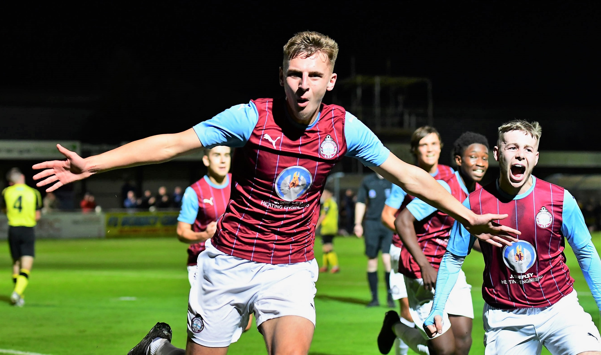South Shields 5-1 Harrogate Town: Young Mariners reach first round again