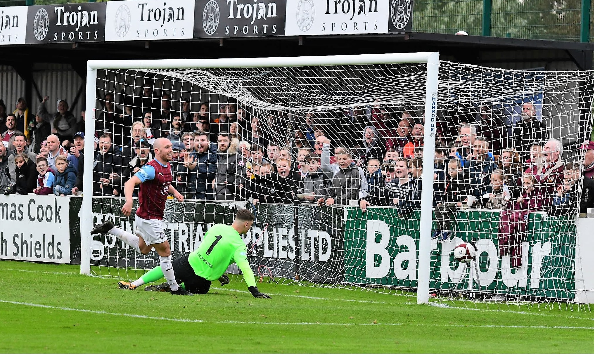 South Shields 3-0 Atherton Collieries: Classy Mariners go further clear