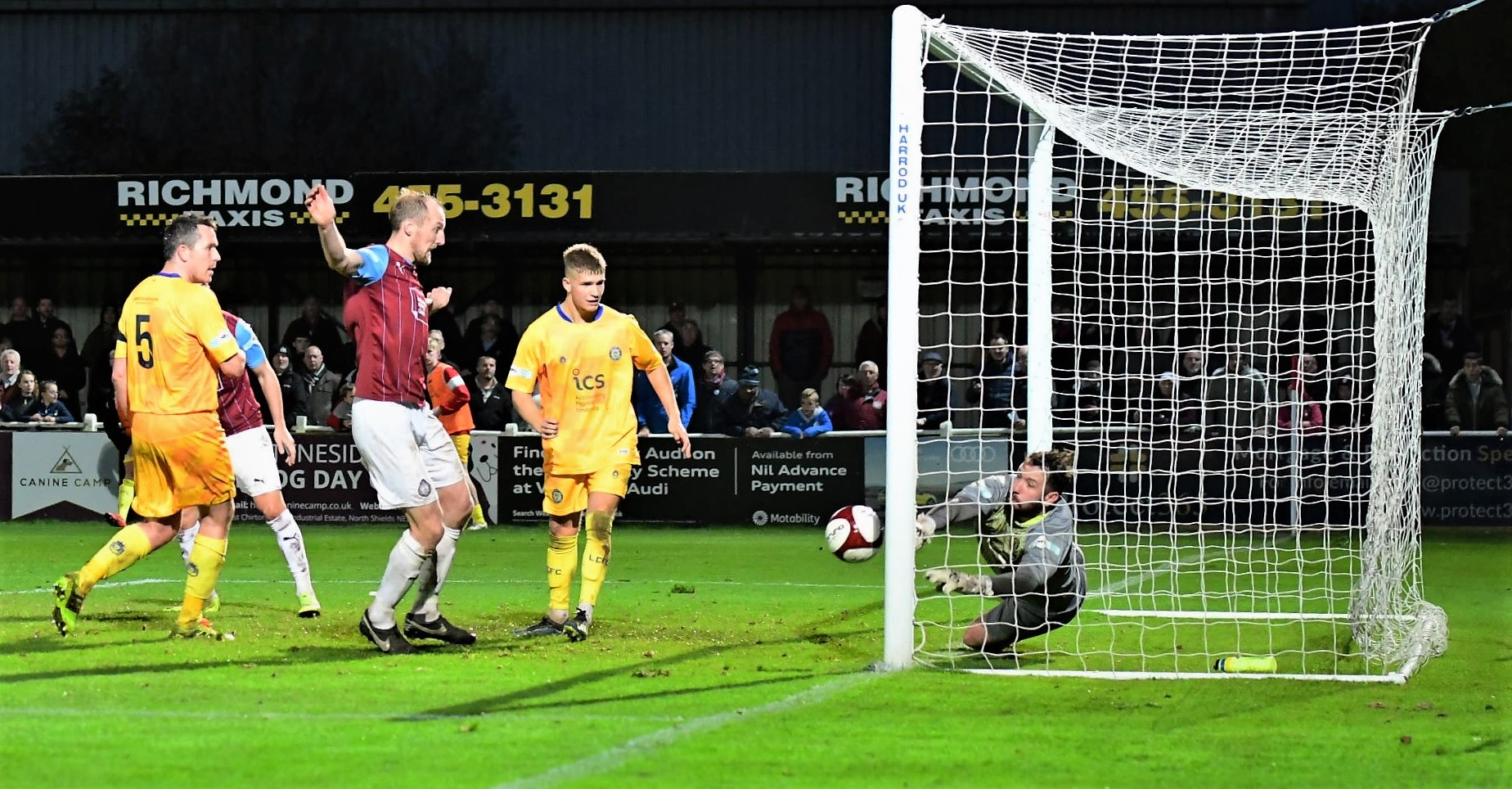 South Shields 0-1 Lancaster City: Mariners undone by second half Norris goal