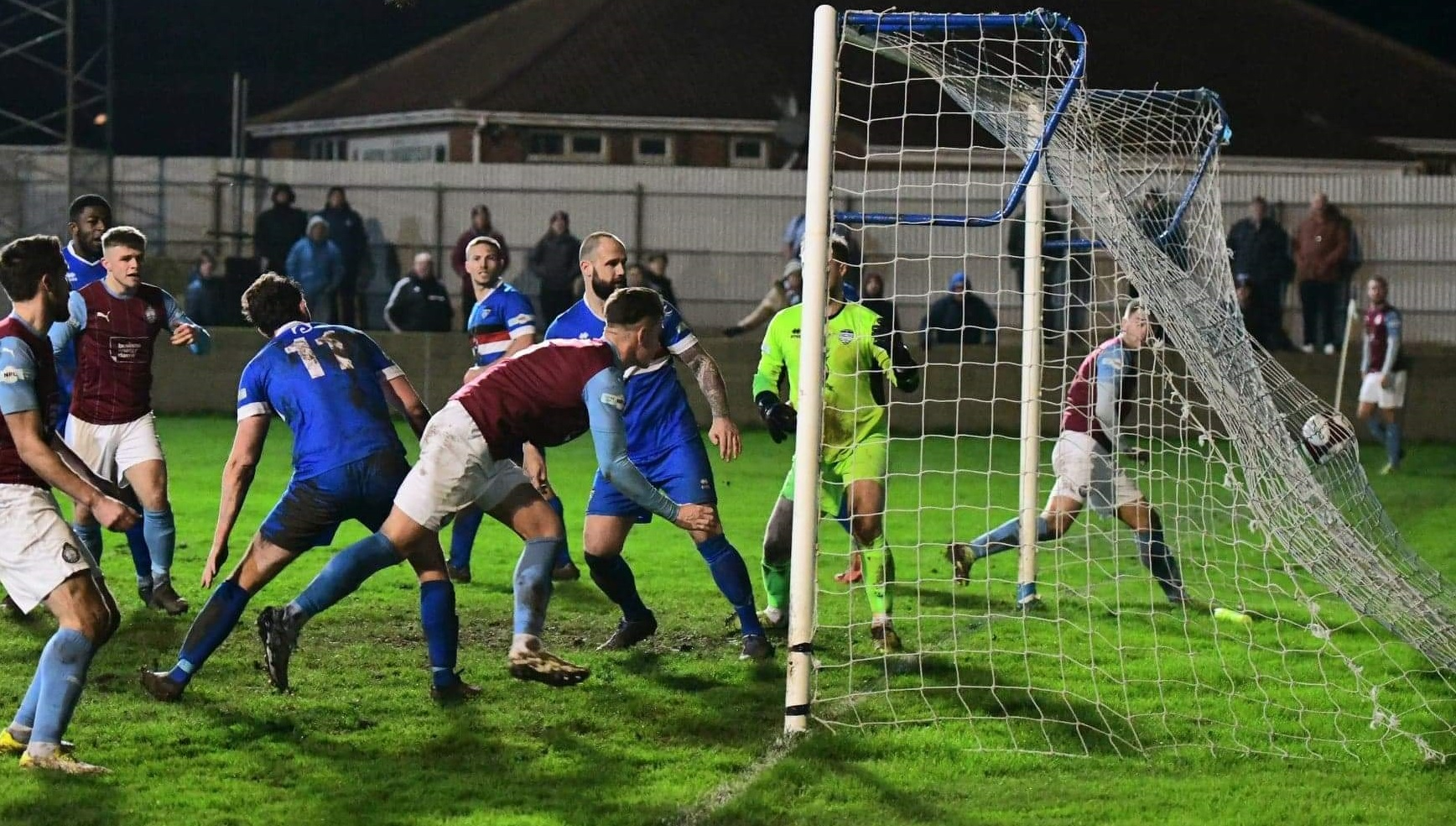 Whitby Town 2-1 South Shields: Mariners stay top after tight defeat