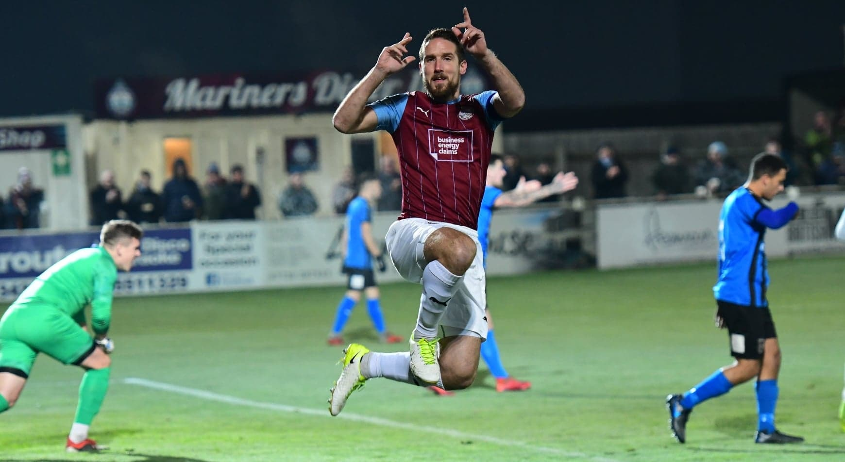 South Shields 4-0 Stourbridge: Mariners book place in Trophy first round