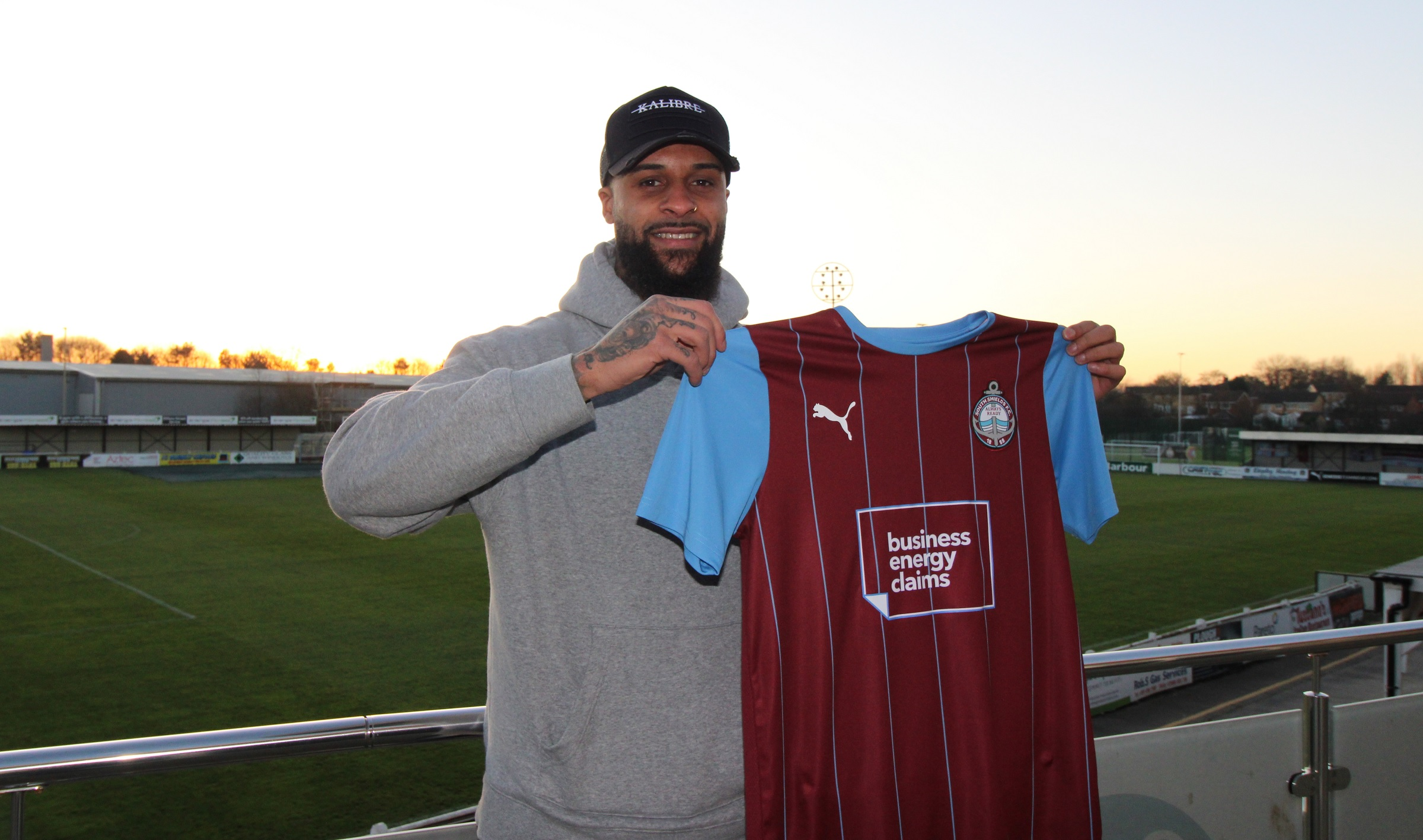 Shields complete signing of Sefton Gonzales