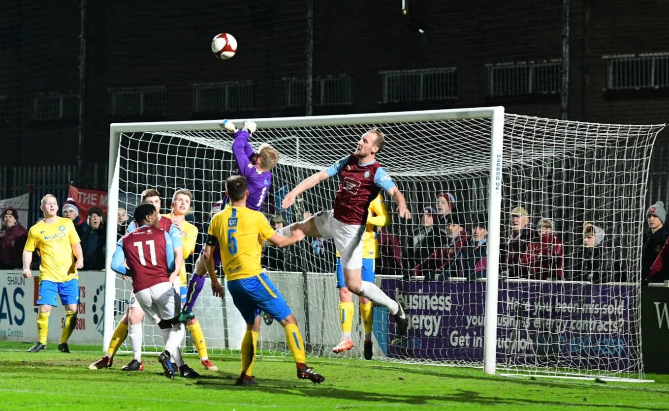 South Shields 1-2 Stockton Town: Durham Challenge Cup bid comes to an end