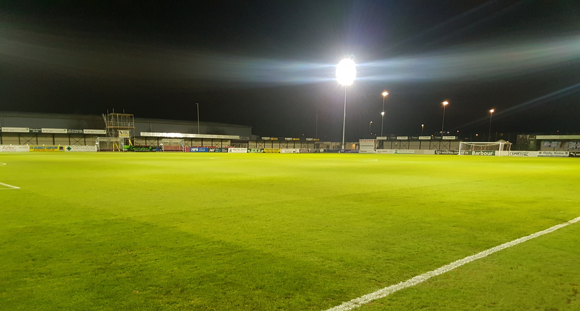 Billingham tie postponed and rearranged for Wednesday at Mariners Park