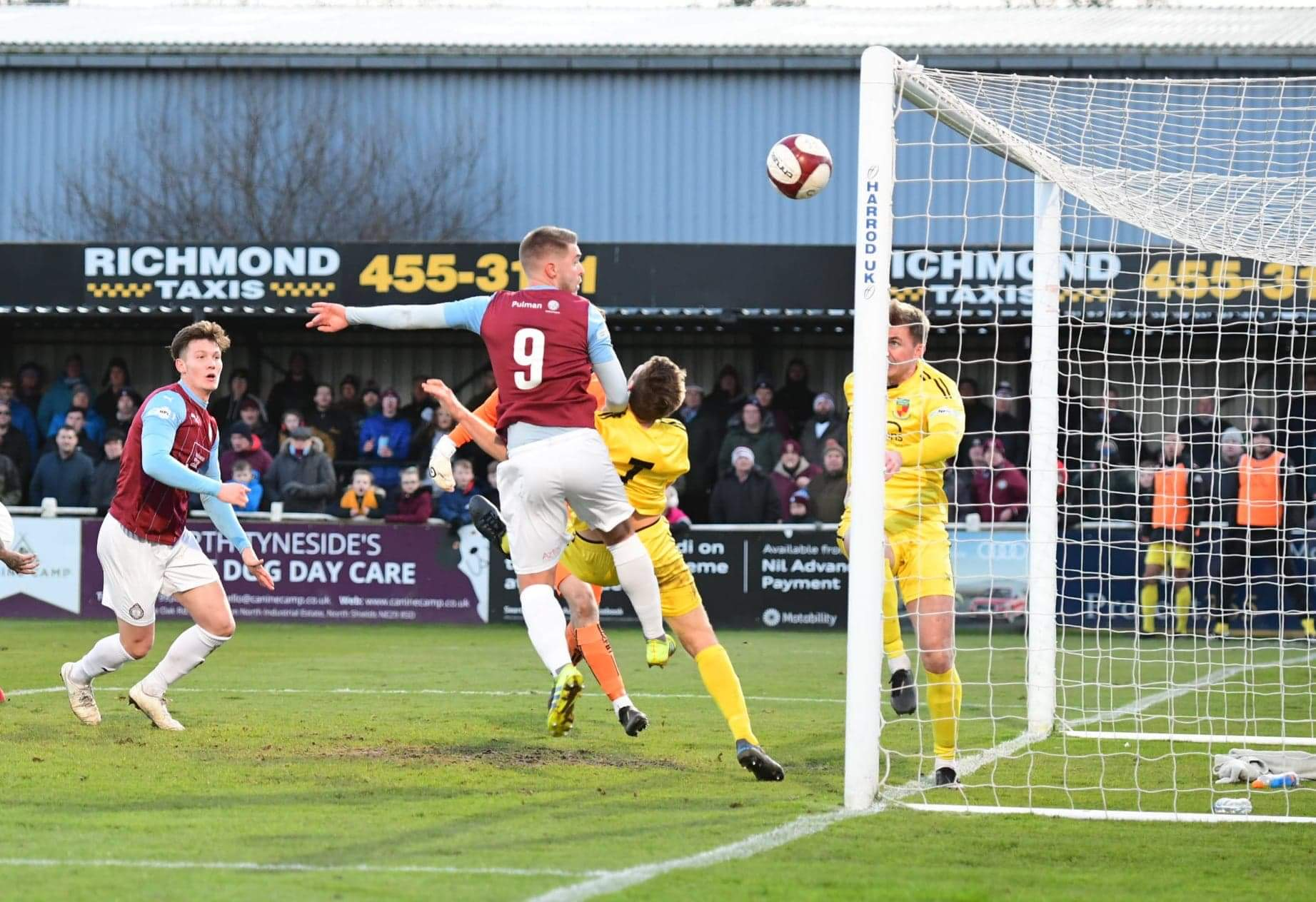 South Shields 1-4 Nantwich Town: Disappointing afternoon for Mariners